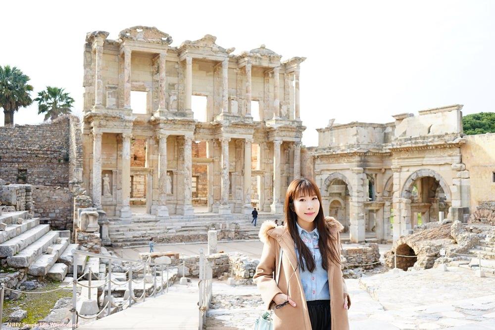 【土耳其熱氣球圓夢】土耳其必去景點 ♥ 以佛所Ephesus 古城遺址