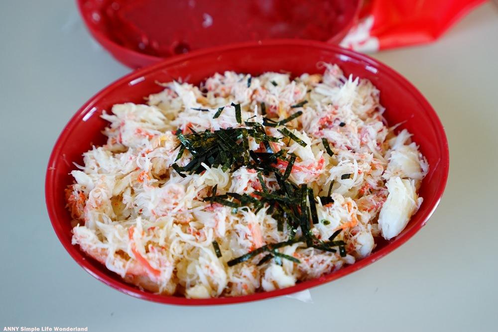 【日本中部北陸】福井車站美食 越前蟹便當 ♥ 撲滿蟹肉 超霸氣