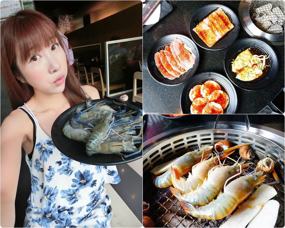 【泰國】曼谷必吃 泰國蝦吃到飽推薦 ♥ 金剛燒肉KING KONG