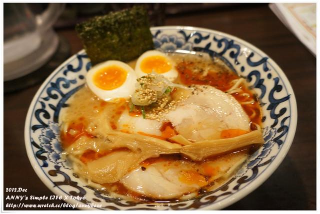 【東京美食】東京車站必吃拉麵推薦 ♥ 九段下 斑鳩拉麵