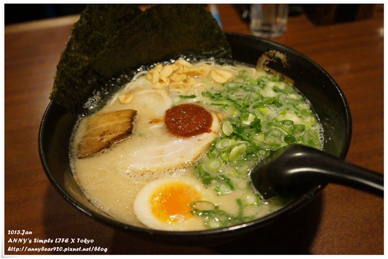 【東京自由行】新宿美食 必吃拉麵 ♥ 康竜拉麵 超香蒜片拉麵