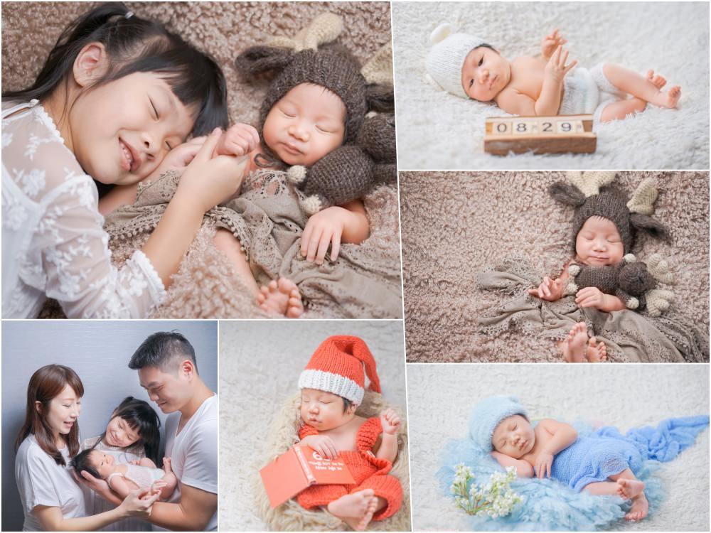 【育兒生活】台北嬰兒寫真推薦 ♥ 小日子寫真館 新生兒寫真超萌