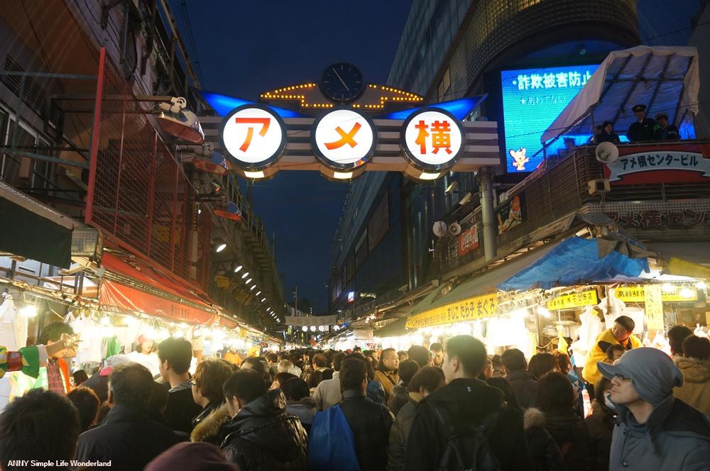 【東京自由行】東京景點推薦 阿美橫町 ♥ 好逛好買阿美橫丁逛街路線