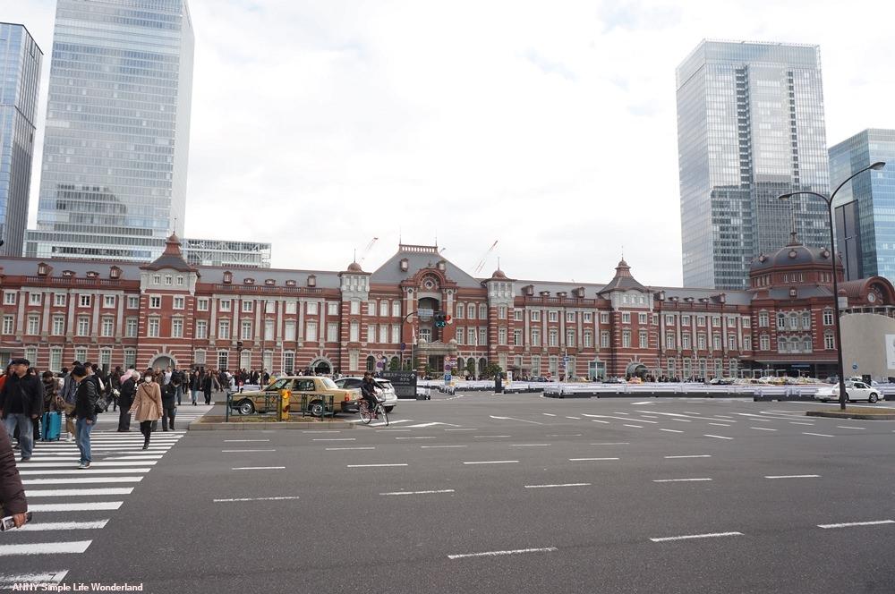 【東京自由行】東京必去景點 東京車站 ♥ 復古車站超好拍