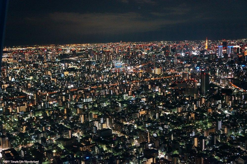 【東京自由行】東京景點推薦 晴空塔夜景 晴空塔點燈 ♥ 門票+交通