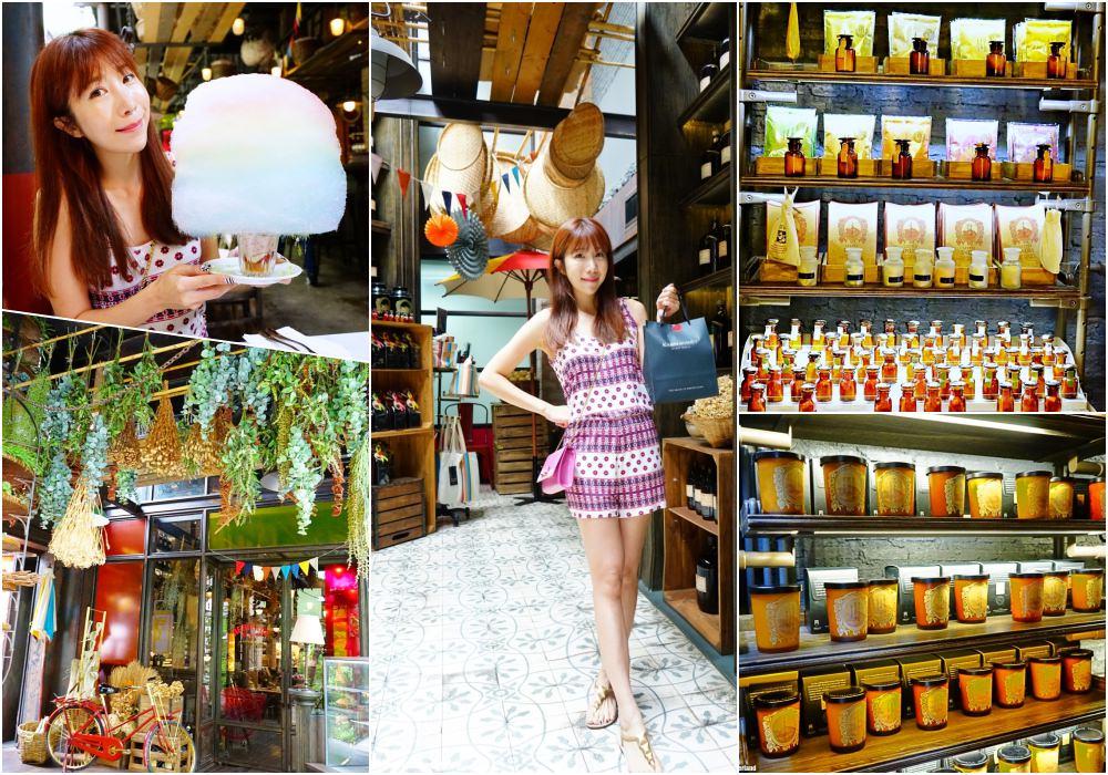 【泰國】曼谷必吃美食 泰國香氛KARMAKAMET Diner ♥ 棉花糖IG打卡下午茶