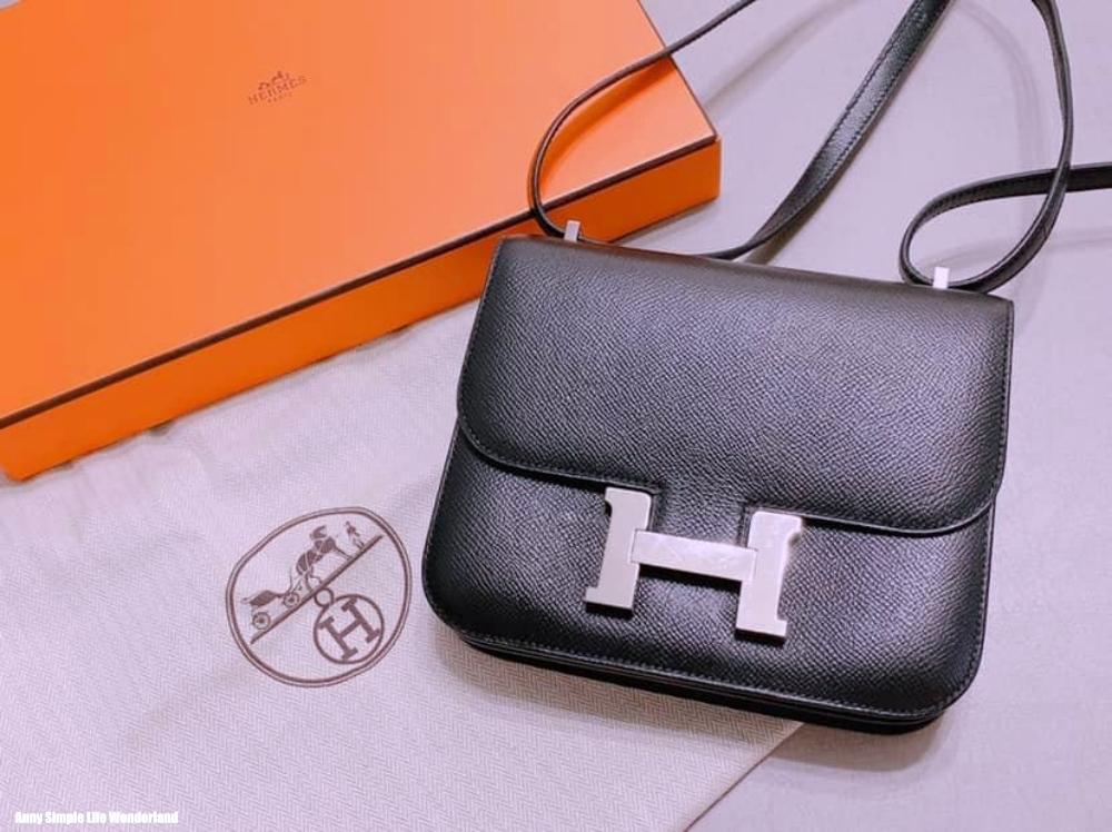[分享] Hermes愛馬仕康康包 constance17 黑銀