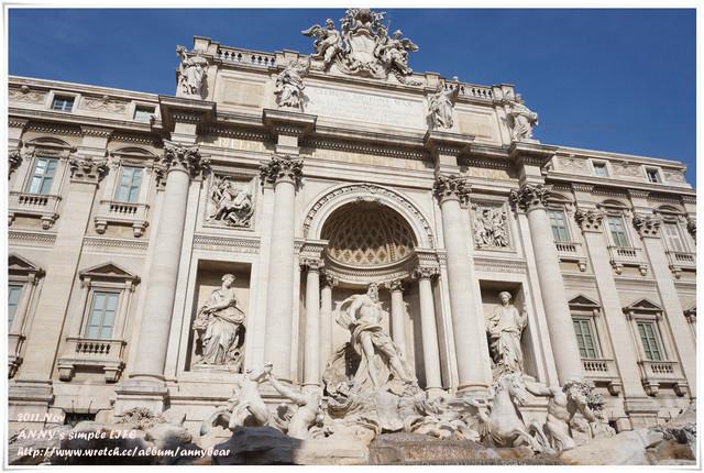 【義大利蜜月】一起來許個願望吧 ♥ 特拉維噴泉(許願池)
