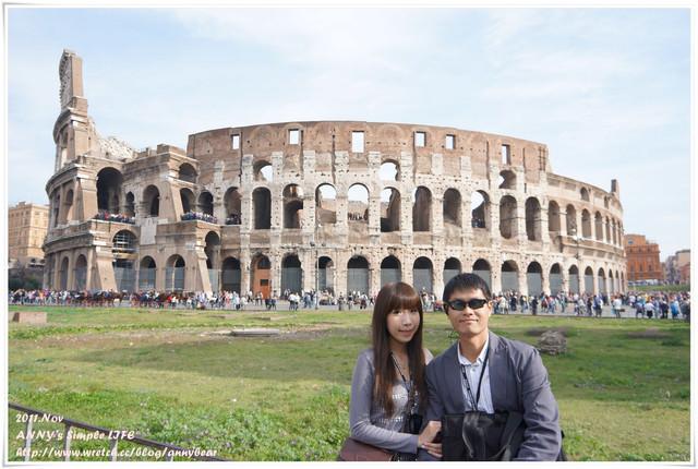 【義大利蜜月】古羅馬的榮耀象徵 ♥ 羅馬競技場