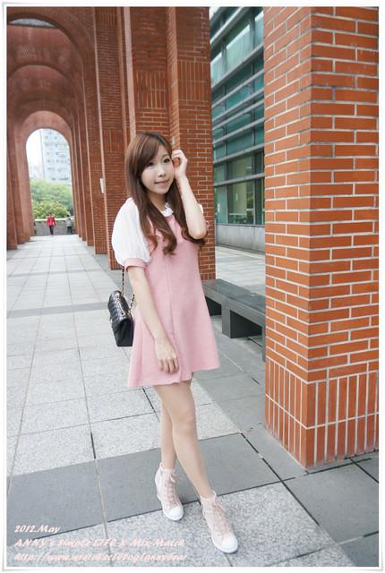 [穿搭] 選對百元單品 ♥ 不花大錢。輕鬆變身韓Girl