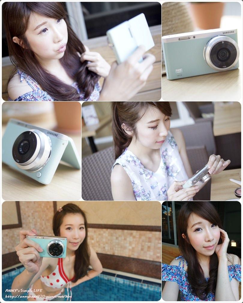 [3C] 尖叫吧!讓女孩們瘋狂的Tiffany綠 自拍機 ♥ Samsung NX mini微型單眼相機