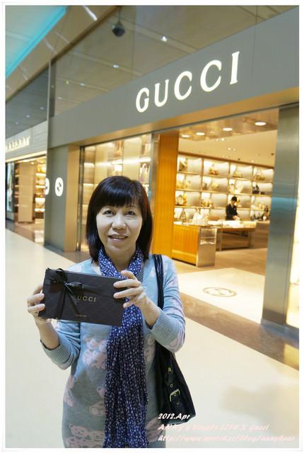 [精品] 媽咪母親節禮物 ♥ Gucci 好美的紫色長夾