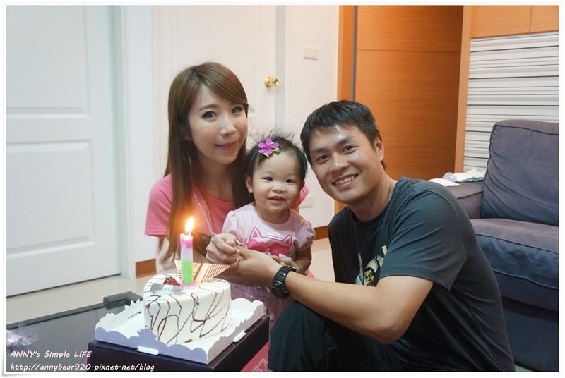 [生日快樂] 原來愛讓你我成長這麼多 ♥ 祝我的小寶貝-小波妞 週歲生日快樂