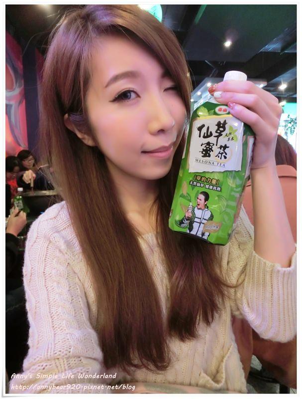 [分享] 看到歌王本人了好興奮 ♥ 泰山仙草蜜茶 跟蕭敬騰一塊吃熱炒