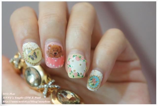 [光療] 指甲美美的心情就很好 ♥ 手腳都要的春天風格