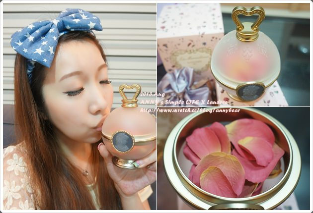 [妝容] (贈獎) 女孩必收藏的夢幻逸品 ♥ Laudree玫瑰花瓣腮紅&腮紅刷 (已抽出)
