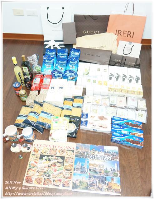 【義大利蜜月】誰說歐洲物價高不好買 ♥ 超重的蜜月戰利品滿載而歸