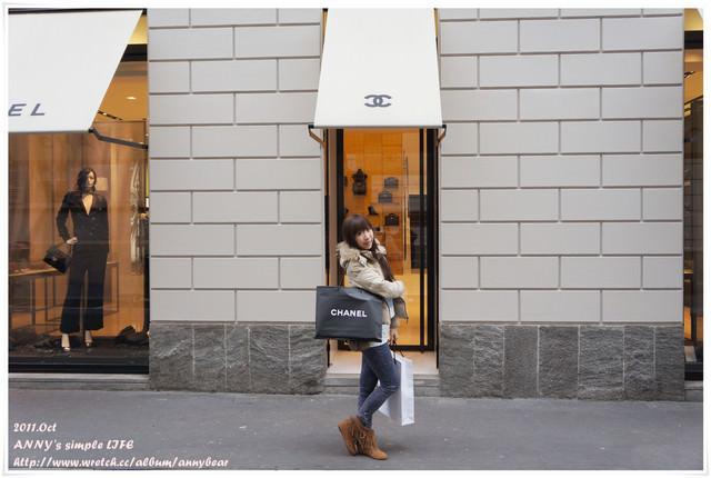 [精品] 義大利蜜月戰利品 ♥ 女孩兒的夢想 荔枝皮金鍊 Chanel Coco