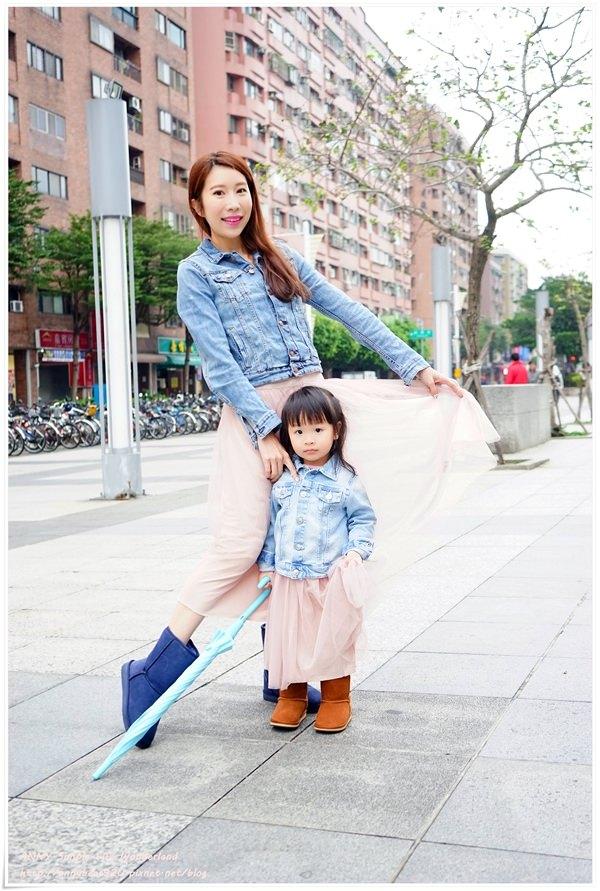 [穿搭] 史上最強母女裝計畫 ♥ peachy的紗裙好美 好好搭