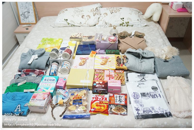 【東京跨年自由行】東京折扣季必買零食藥妝伴手禮清單 ♥ 戰利品擺滿床