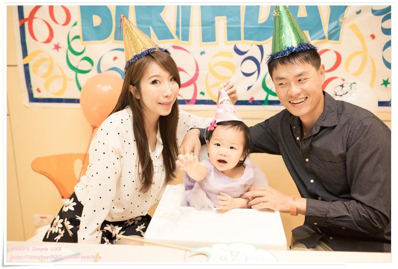 [育兒生活] 我的幸福小寶貝生日快樂 ♥ 好歡了&美好回憶 小波妞週歲趴實錄
