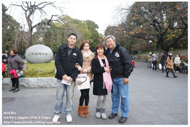 【東京跨年自由行】賞櫻賞風景點推薦上野恩賜公園 ♥ 阿美橫町二木菓子